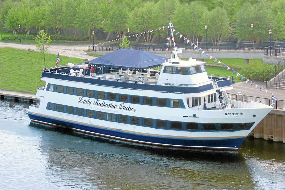 Lady Katharine Cruises Mystique is shown on the Connecticut River in Middletown. Photo: File Photo
