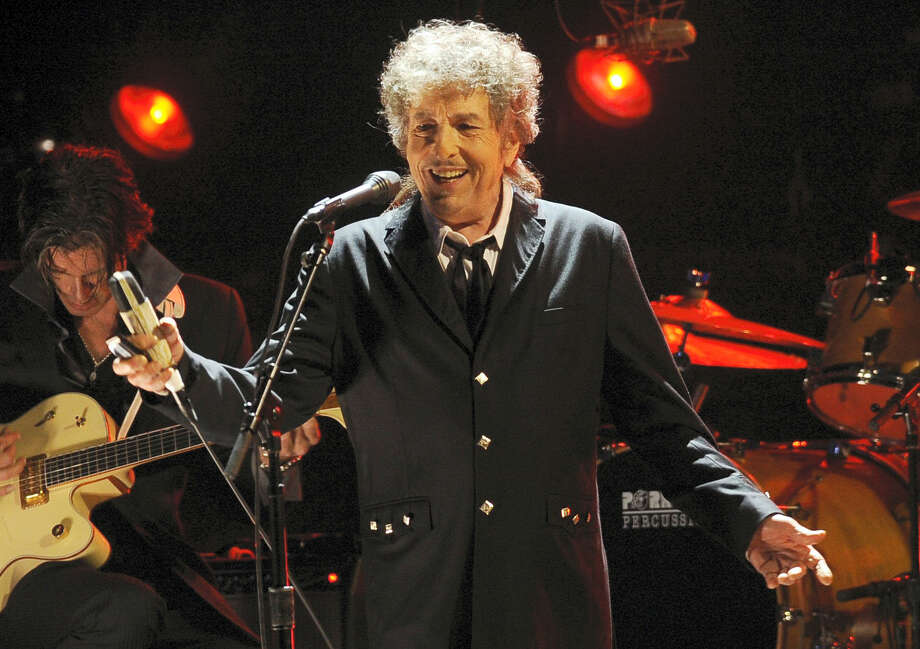 In this Jan. 12, 2012 photo, Bob Dylan performs during the 17th Annual Critics' Choice Movie Awards in Los Angeles. Photo: AP Photo/Chris Pizzello, File  / AP