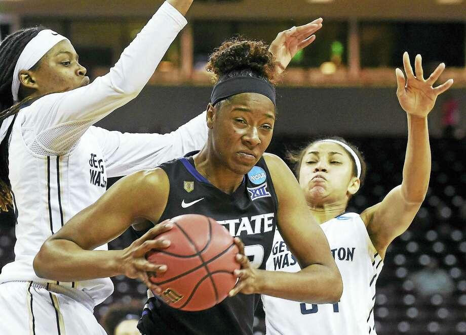 Kansas State forward Breanna Lewis. Photo: The Associated Press File Photo  / FR155191 AP