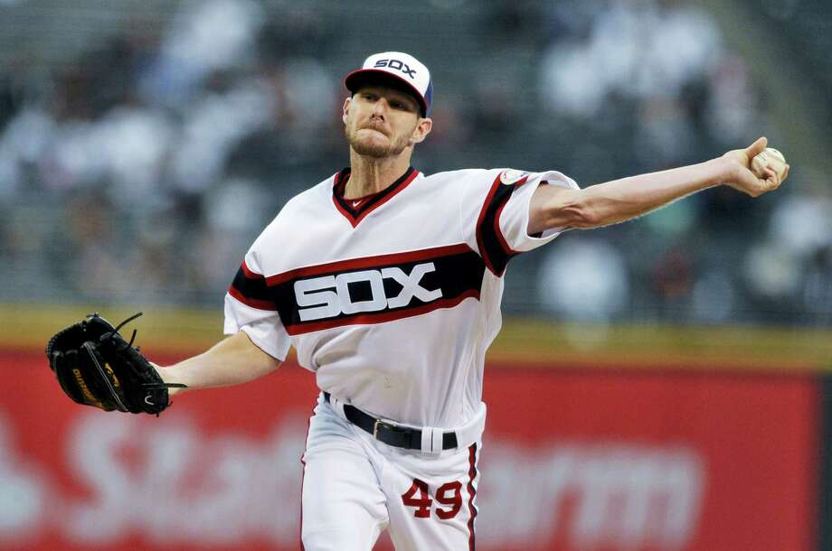 Red Sox fans got an early Christmas present this year when the team acquired Chris Sale in a trade with the White Sox. Photo: The Associated Press File Photo  / FR36811 AP
