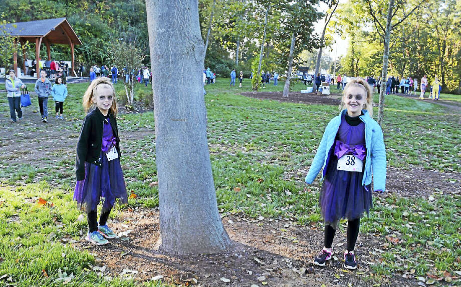 Cassandra Day - The Middletown Press The Portland Come on Over 5K this year was also a zombie run. Runners of all ages got into the Halloween spirit by donning costumes. The race kicked off from Riverfront Park on Oct. 15, 2016. Photo: Digital First Media