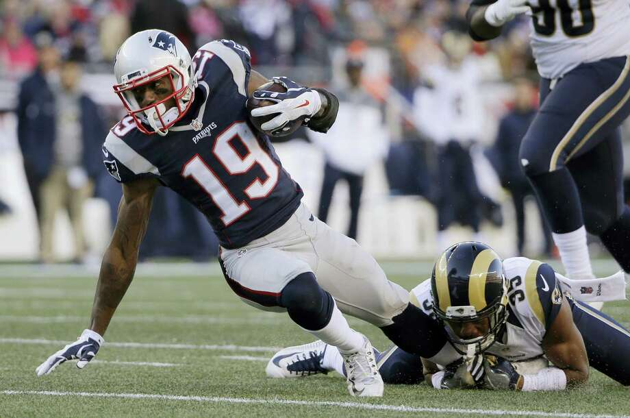 Patriots wide receiver Malcolm Mitchell. Photo: The Associated Press   / Copyright 2016 The Associated Press. All rights reserved.