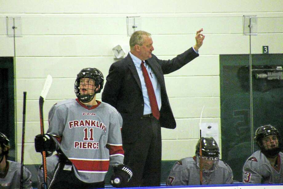 Former UConn hockey coach and current coach at Franklin Pierce Bruce Marshall died on Saturday. Photo: Photo Courtesy Of Franklin Pierce