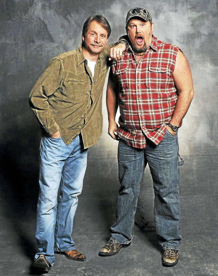 Contributed photoJeff Foxworthy and Larry the Cable Guy are coming to the Warner Theatre in Torrington on March 4, for two evening shows. Photo: Journal Register Co. / 2010 Jim McGuire Photography