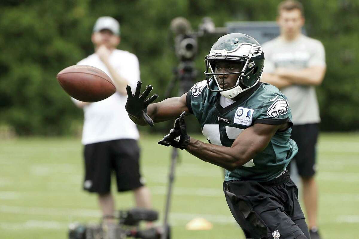 Philadelphia Eagles receiver Nelson Agholor.