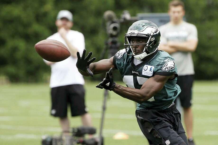 Philadelphia Eagles receiver Nelson Agholor. Photo: Matt Rourke — The Associated Press  / AP