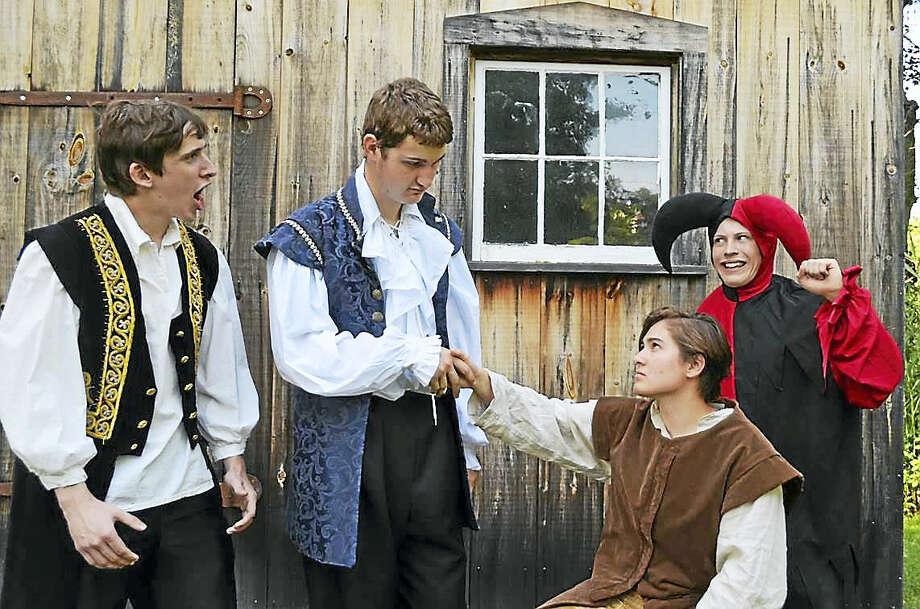 "Part of the cast of ""The Merchant of Venice"" in Clinton. Photo: Photo Courtesy Of Kidz Konnection"
