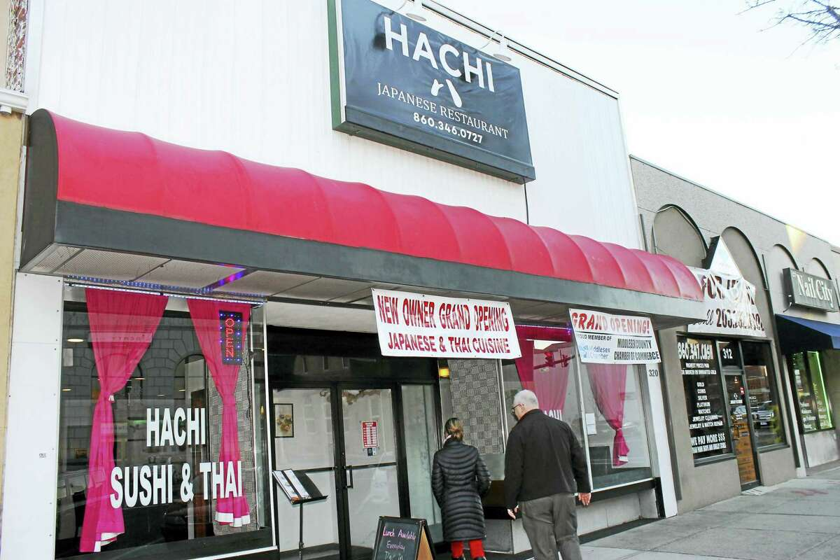 Co-owner and manager Maggie Huang runs the restaurant with her husband — head chef Leo Huang. The couple moved from New York City to open Hachi after researching Middletown's array of world cuisines.