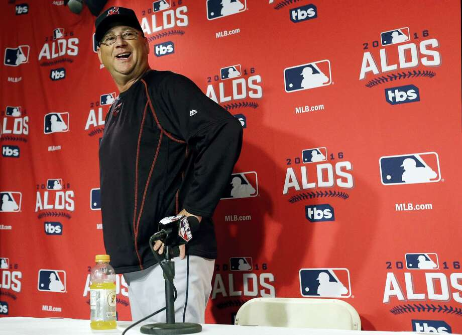 Indians manager Terry Francona departs after speaking to the media at Fenway Park last Sunday. Photo: Elise Amendola — The Associated Press  / AP