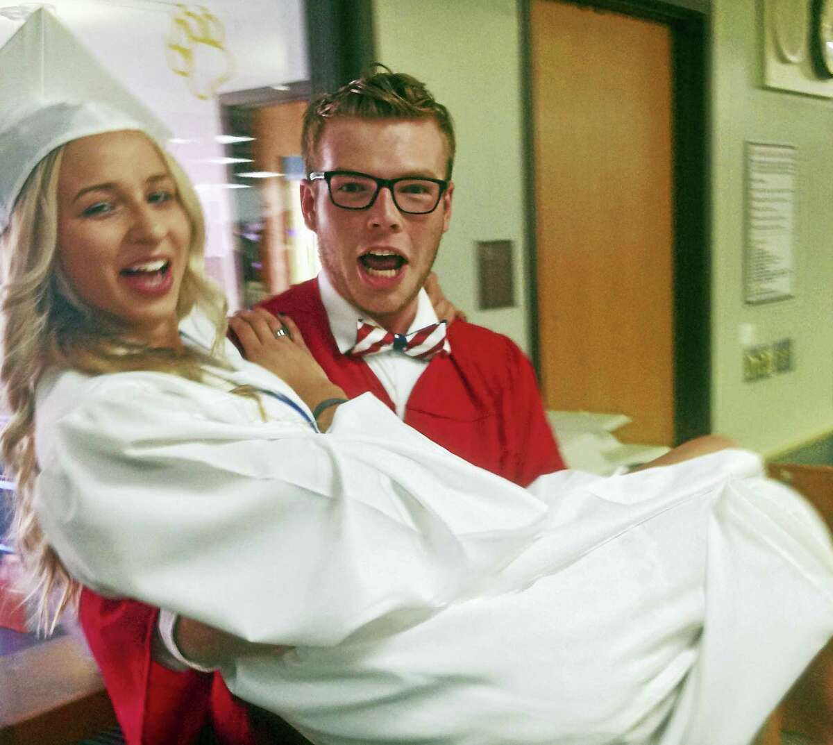 Cromwell High School graduated 153 students in a ceremony on Friday evening.