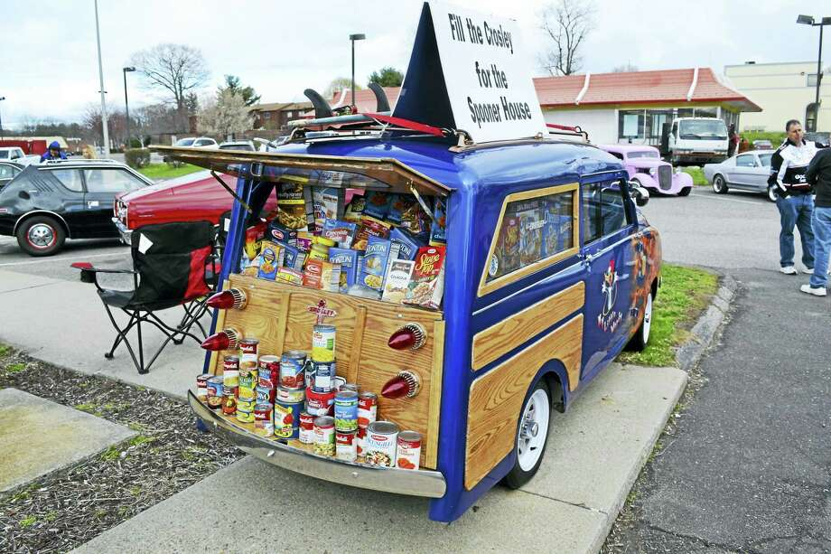 The Crosley filled with food last year. Photo: Contributed