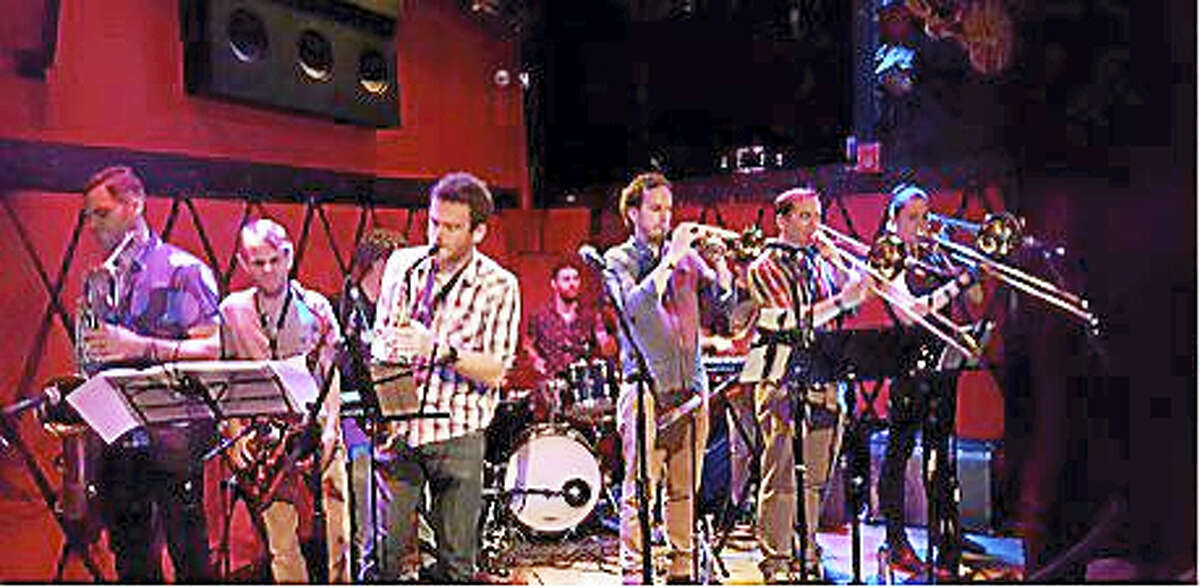 Contributed photo Dan Pugach and the Dan Pugach Nonet performs at the Poli Club at the Palace Theater in Waterbury on Friday, Dec. 16.