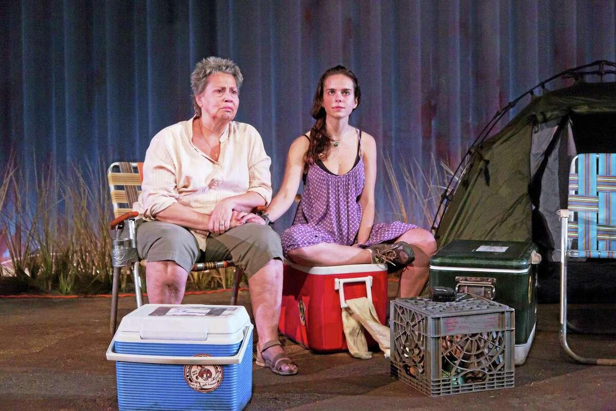 "Randy Danson and Arielle Goldman in ""Lewiston."""