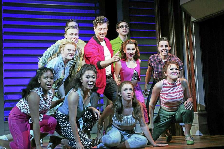 Photos by Diane Sobolewski The cast of Bye Bye Birdie rehearses a scene for performances at Goodspeed Musicals. Photo: Journal Register Co. / ©2016 Diane Sobolewski