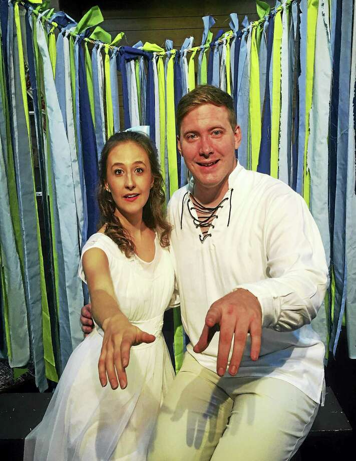 Photo courtesy of Connecticut Cabaret TheatreJillian Caillouette and Jordan Duvall star in the Connecticut Cabaret Theater's production of The Fantasticks, opening Aug. 19. Photo: Journal Register Co.