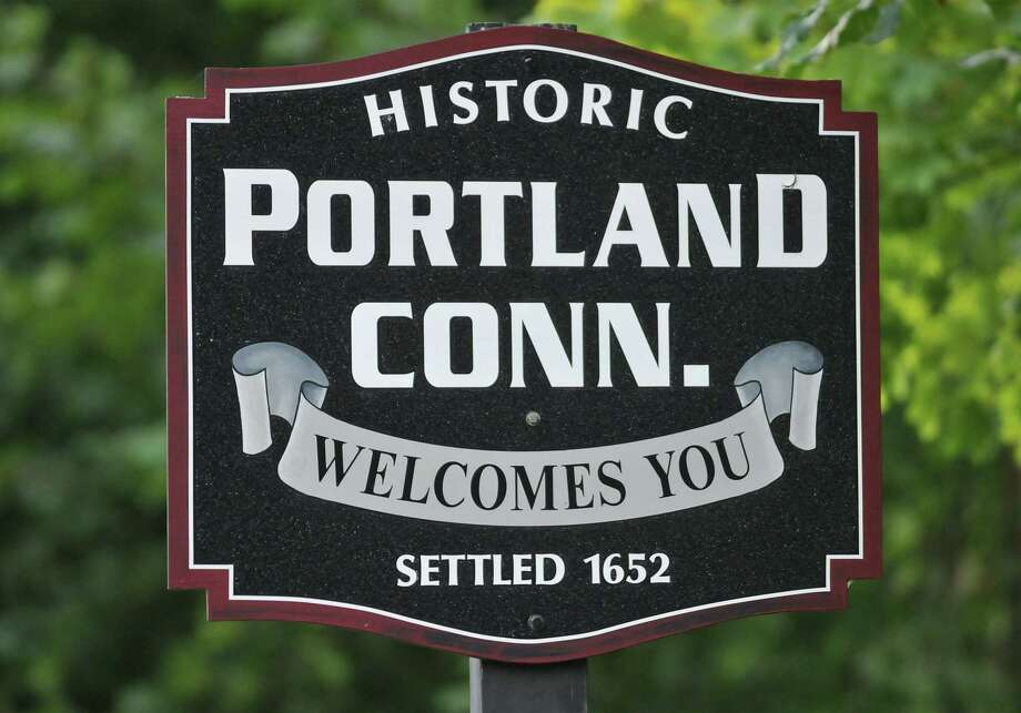 Portland sign. Catherine Avalone - The Middletown Press Photo: Journal Register Co. / TheMiddletownPress
