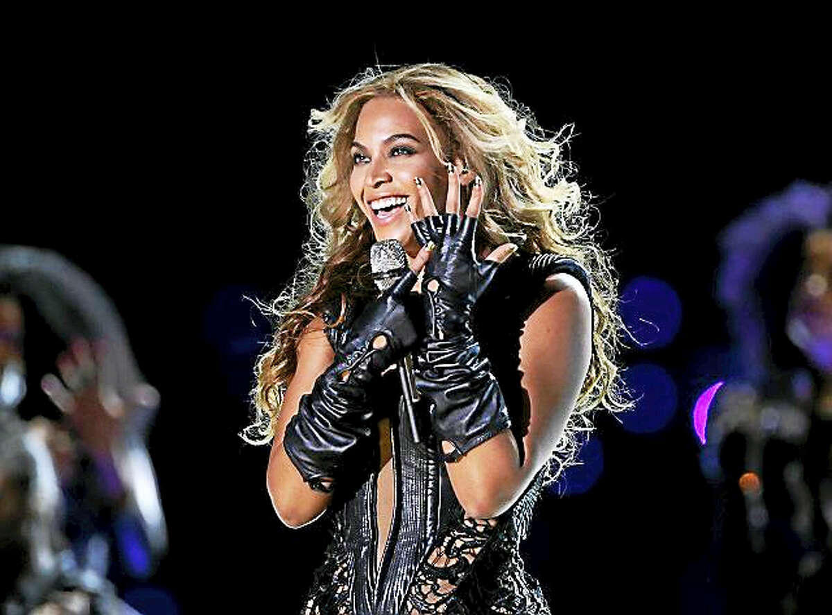 Beyonce in performance