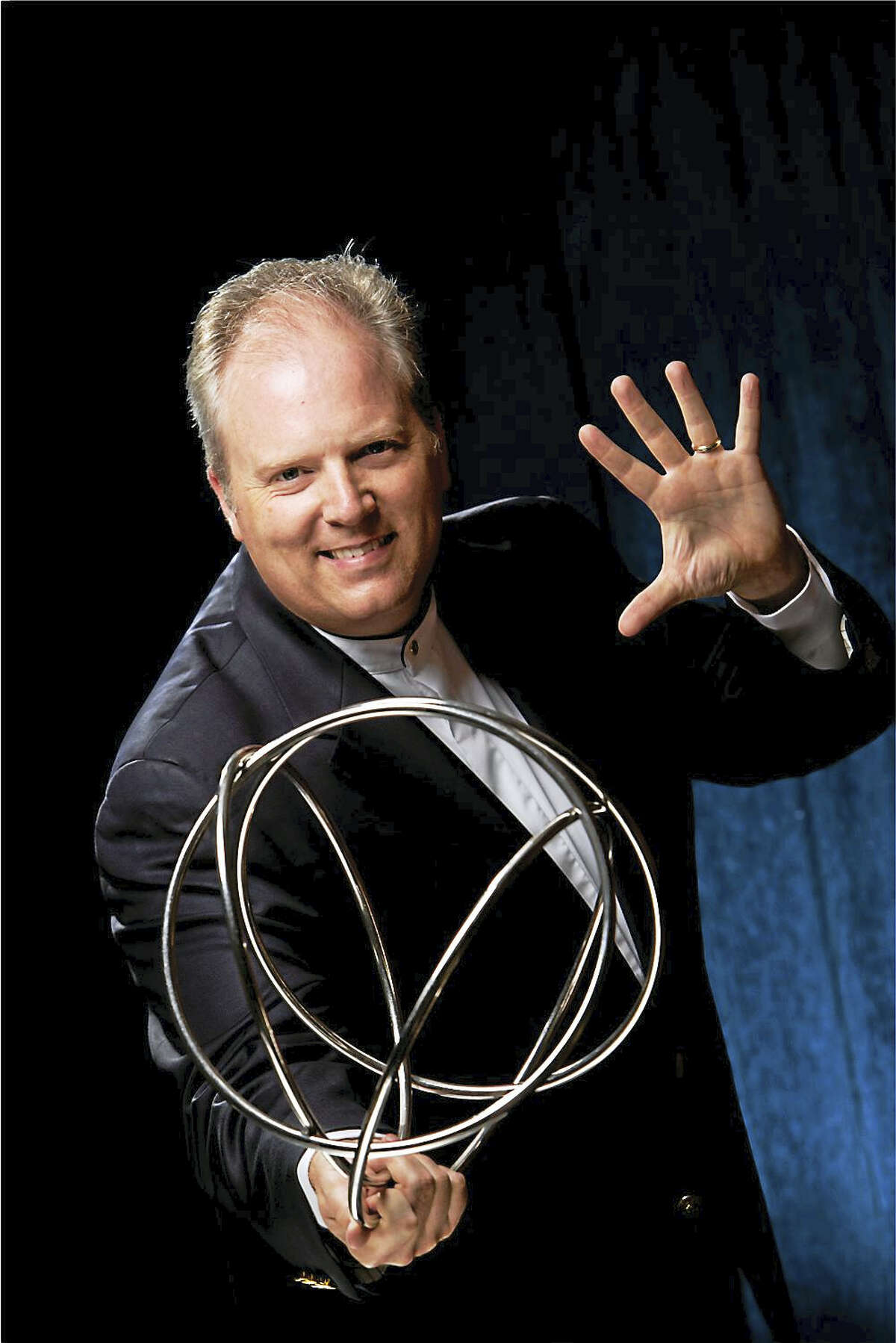 """Photo courtesy of David Reed-BrownMagician David Reed-Brown stars in """"The Magic Show"""" on April 15 at 7 p.m. at Essex Town Hall, sponsored by The First Congregational Church in Essex."""
