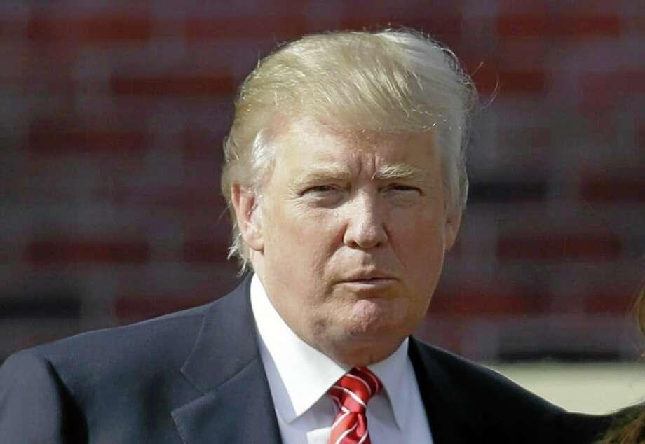 President-elect Donald Trump Photo: FILE Photo  / AP