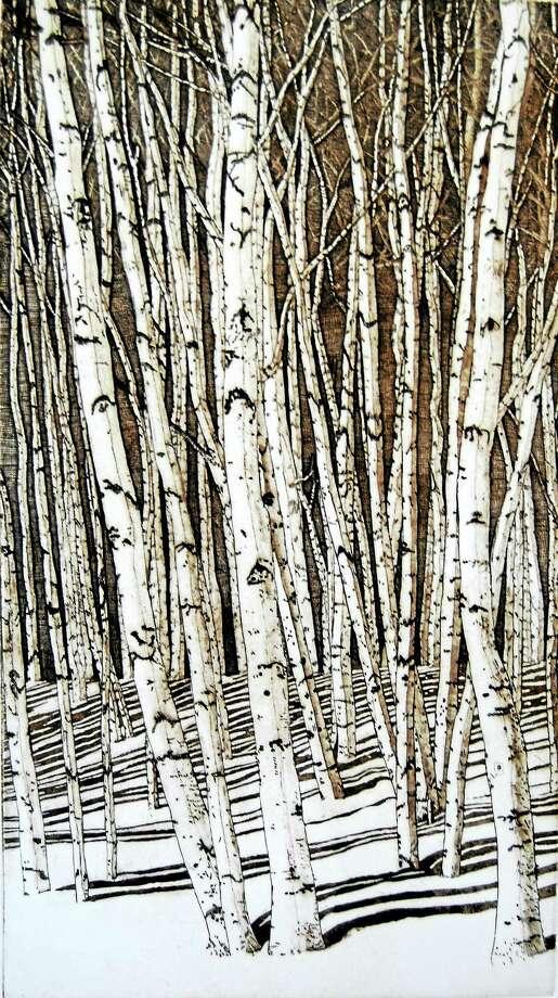 Contributed photo Eric Goldberg, Winter Sonata, at the Zahn Gallery. Photo: Journal Register Co.
