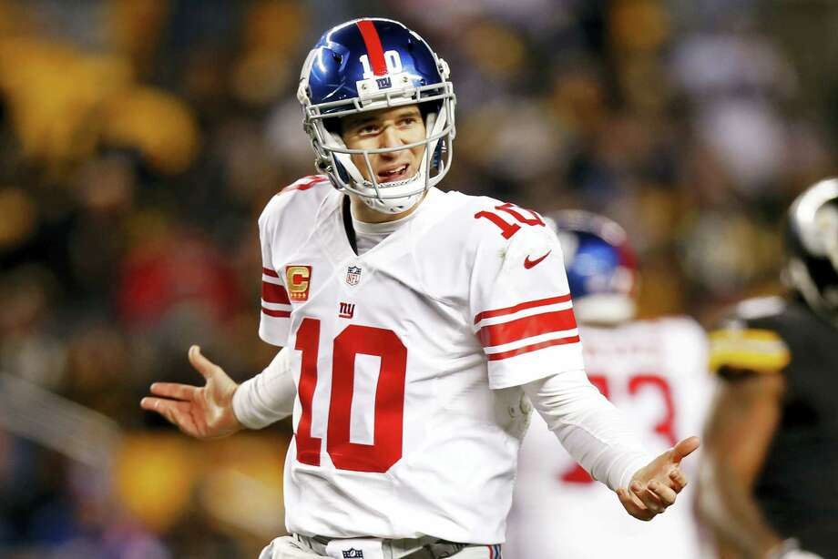 New York Giants quarterback Eli Manning. Photo: Jared Wickerham — The Associated Press  / FR171279