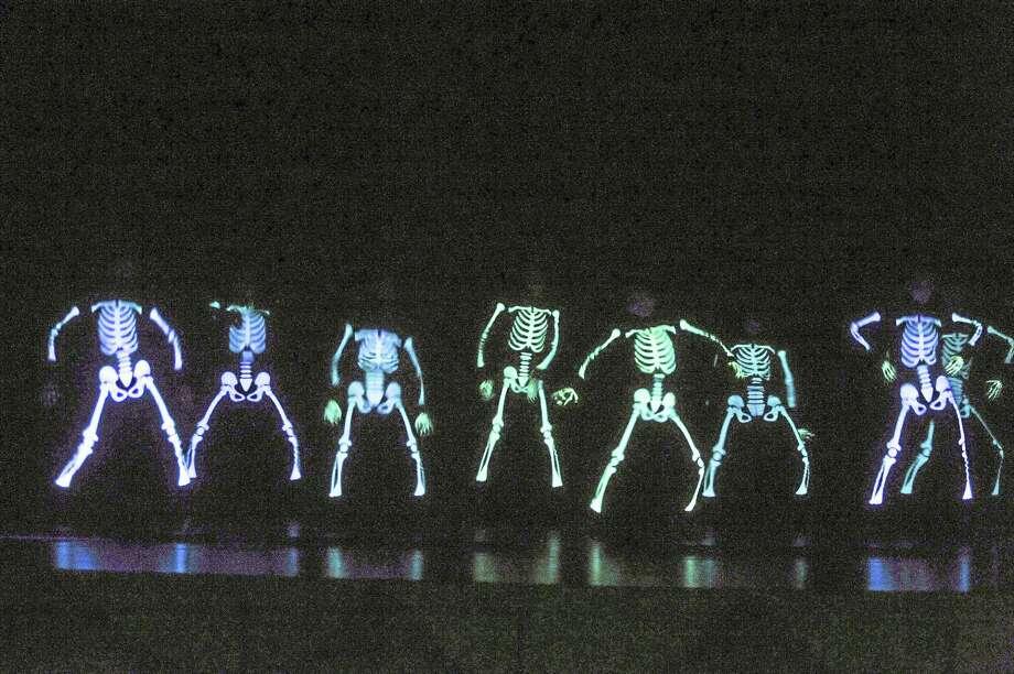 "The ""Dancing Bones"" segment of ""Ballet Spooktacular."" Photo: Contributed  / ©2014 Thomas Giroir Photography"