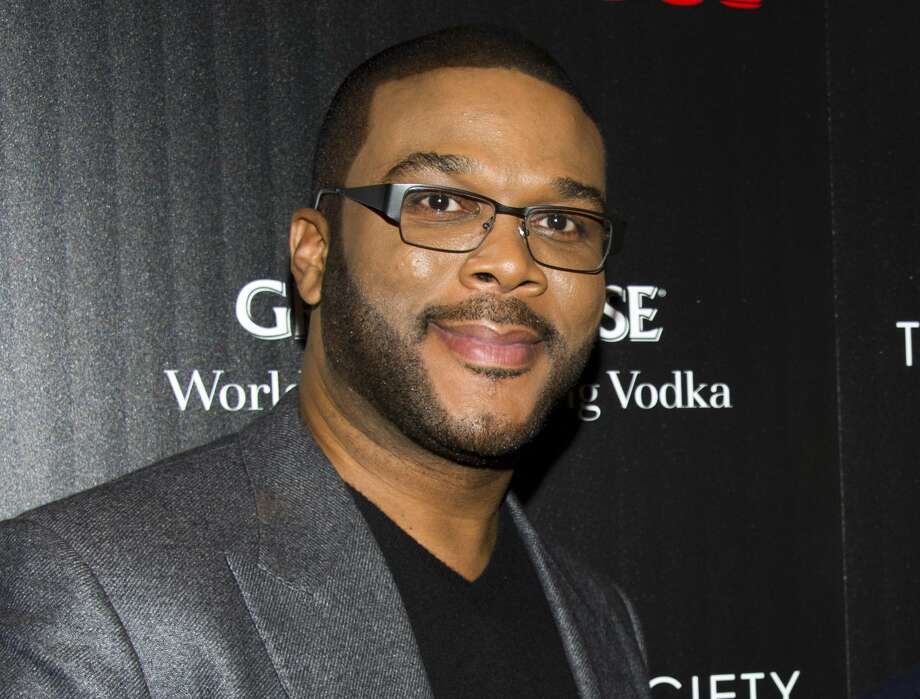 "This Oct. 18, 2012 photo shows Tyler Perry at a screening of ""Alex Cross"" in New York. Photo: Photo By Charles Sykes/Invision/AP, File  / Invision"