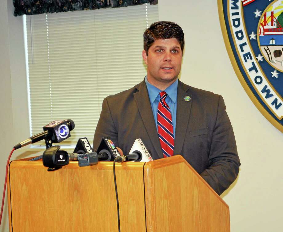 Middletown Mayor Dan Drew Photo: File Photo