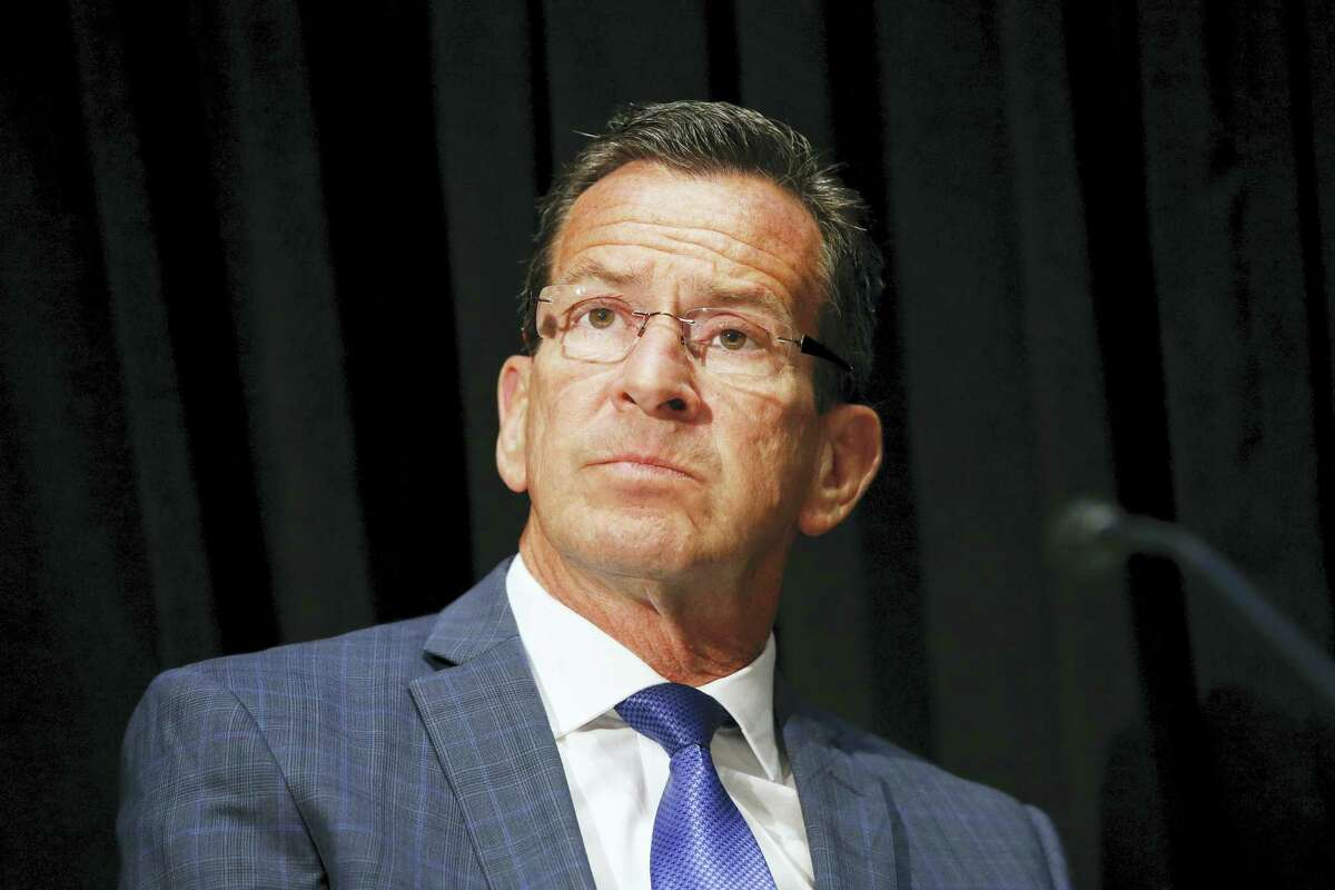 Gov. Dannel P. Malloy attends an opioid abuse conference Tuesday, June 7, 2016, in Boston.
