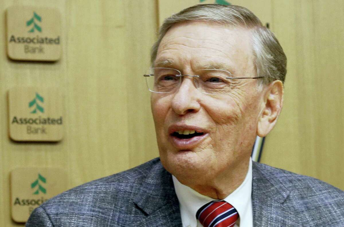 Former Major League Baseball Commissioner Bud Selig was elected to the baseball Hall of Fame on Sunday.