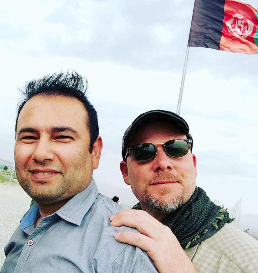 This undated photo provided by NPR shows Zabihullah Tamanna, left, and David Gilkey. Gilkey, a veteran news photographer and video editor for National Public Radio, and Tamanna, an Afghan translator, were killed while on assignment in southern Afghanistan on Sunday, June 5, 2016, a network spokeswoman said. (Monika Evstatieva/NPR via AP) MANDATORY CREDIT Photo: AP / NPR