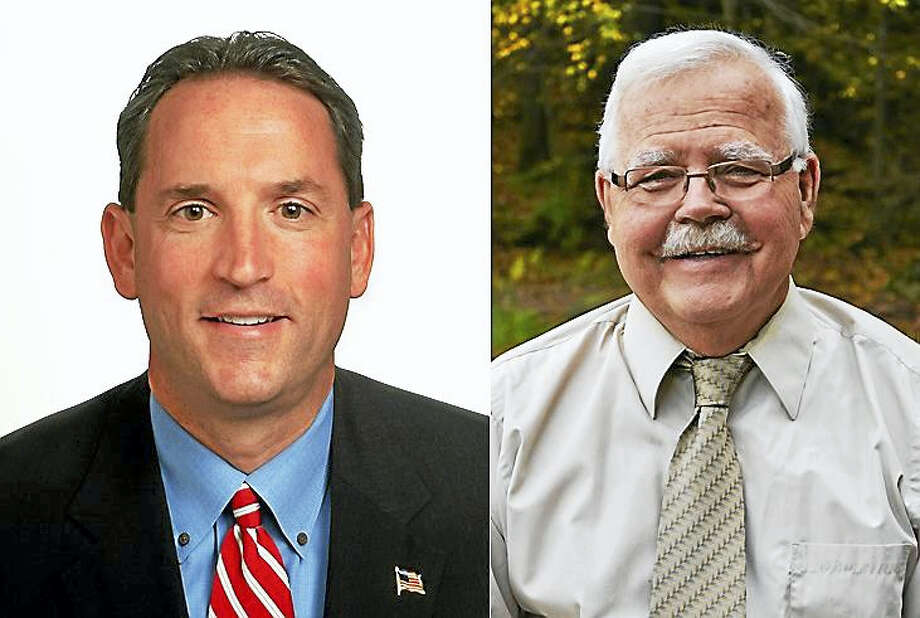 State Sen. Paul Doyle, D-9th, and Republican challenger Earle Roberts of Middletown Photo: Courtesy Photos