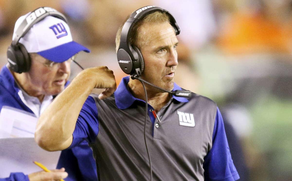 Giants defensive coordinator Steve Spagnuolo.