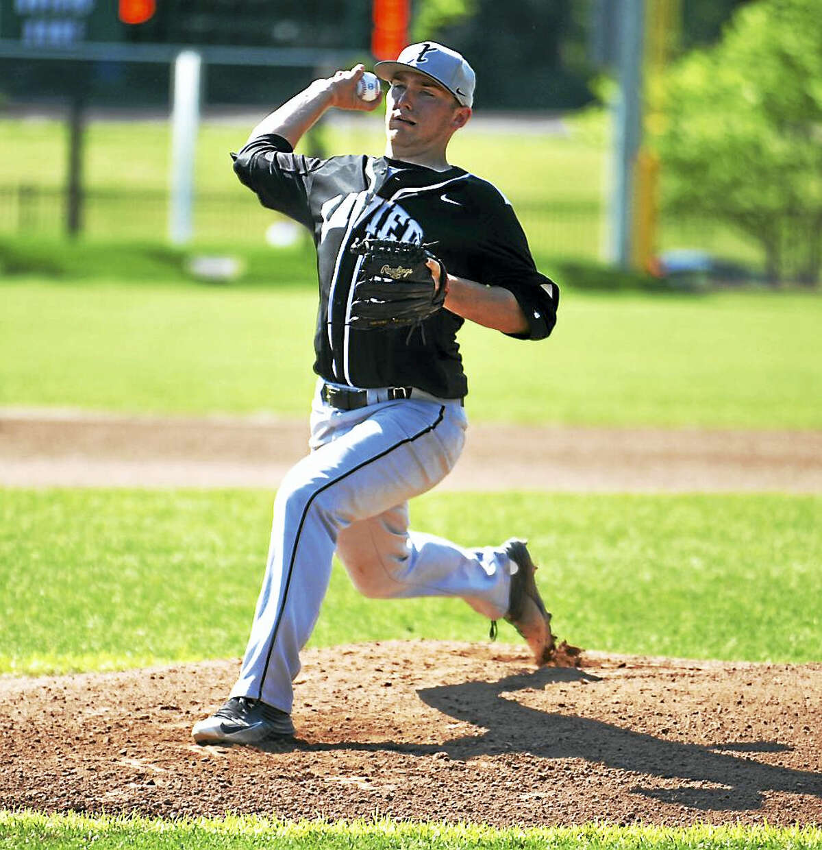 Jimmy Zanor - The Middletown PressXavier senior Scott Marks helped the Falcons reach the Class LL quarterfinals as the No. 34 seed.
