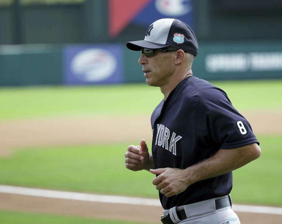 Yankees manager Joe Girardi. Photo: The Associated Press File Photo  / AP
