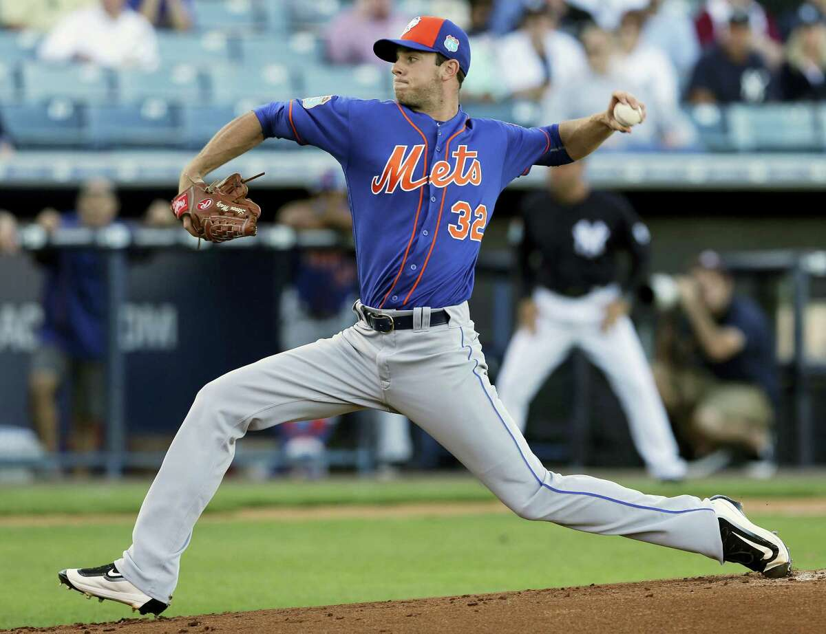 Steven Matz pitches during a game earlier this spring training.