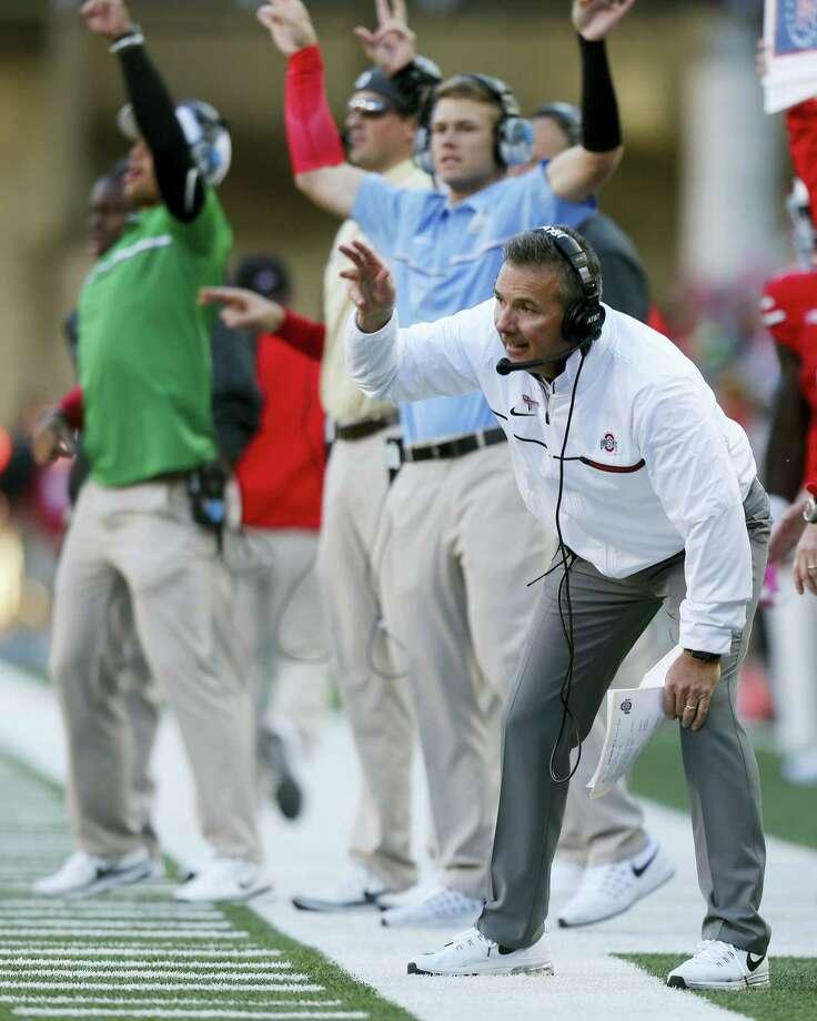 Ohio State head coach Urban Meyer. Photo: The Associated Press  / FR52593 AP