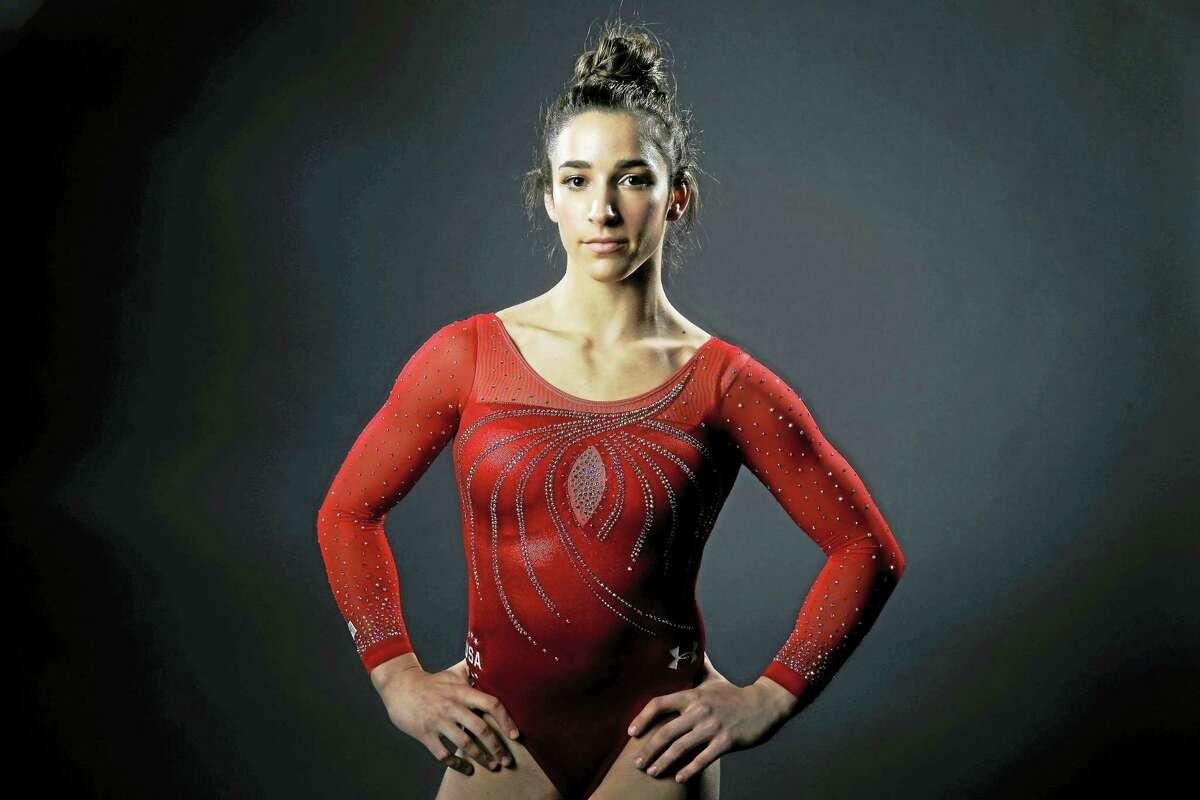 Gymnast Aly Raisman.