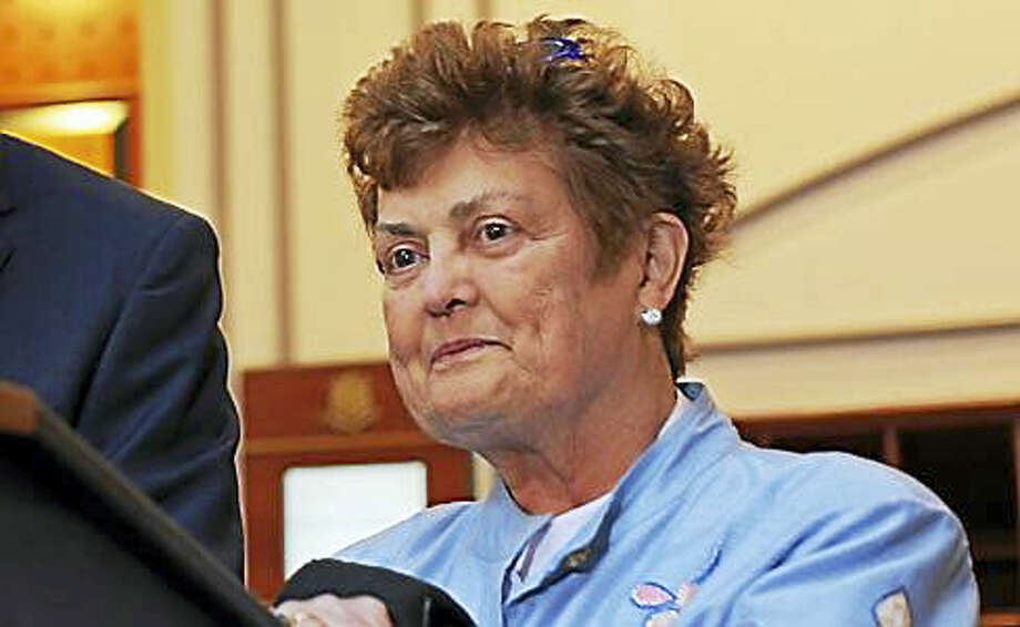 Rep. Betty Boukus after the Nov. 15 Bond Commission meeting Photo: Christine Stuart File Photo