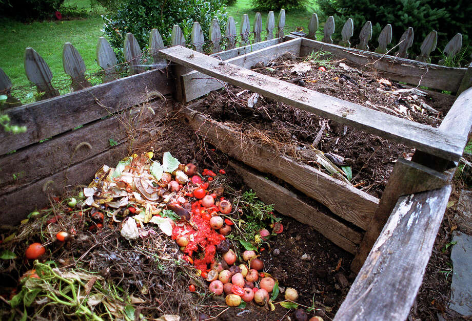 """Composting organic materials turns them into """"black gold,"""" a nutrient-rich soil that can be added to the garden. Photo: FILE Photo  / York Sunday News"""