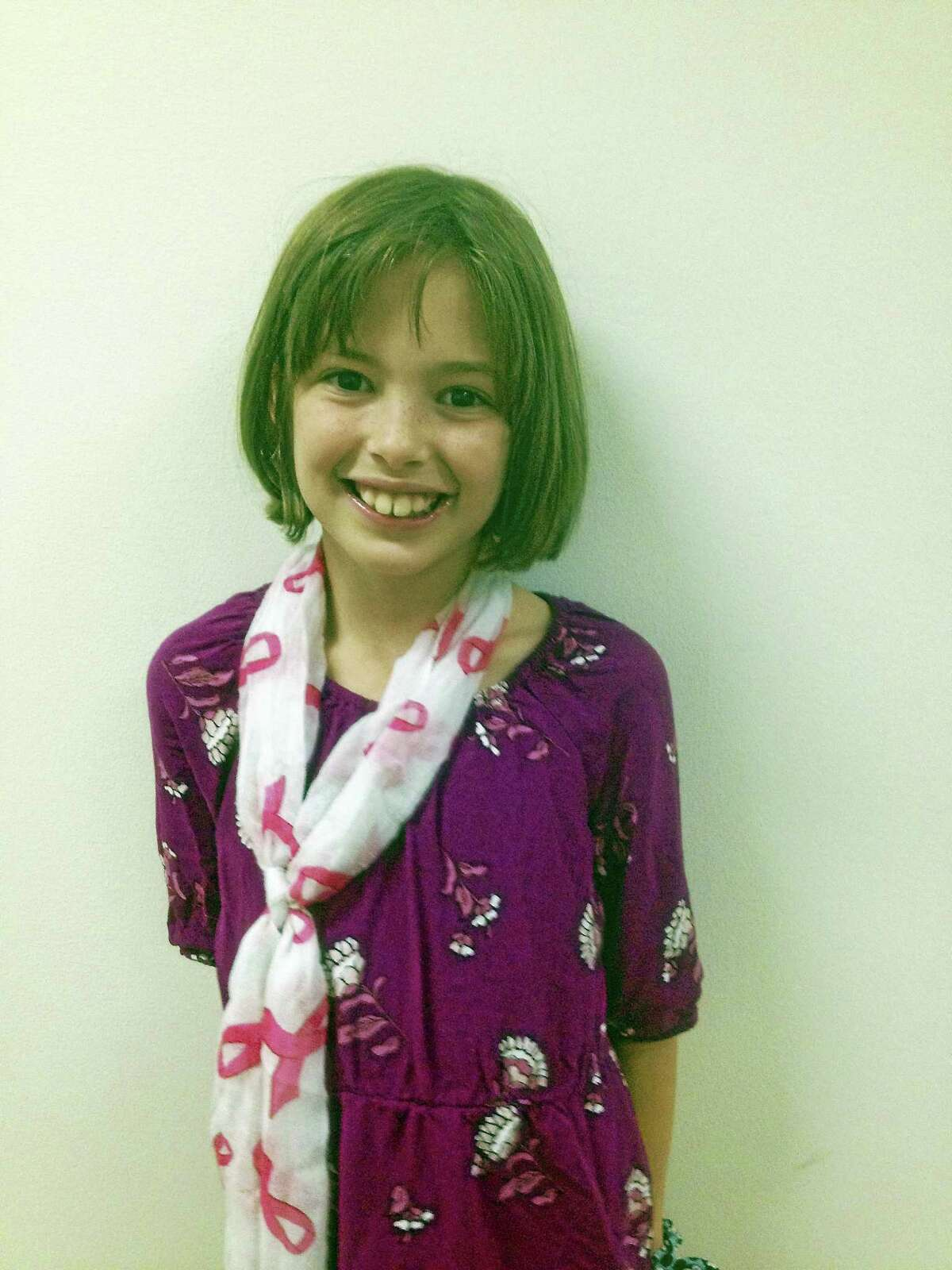 """Cromwell Mayor Enzo Faienza Kellie said Kellie Drew, 9, is """"a young person who cares and gives back to her town,"""" and """"a special individual."""""""