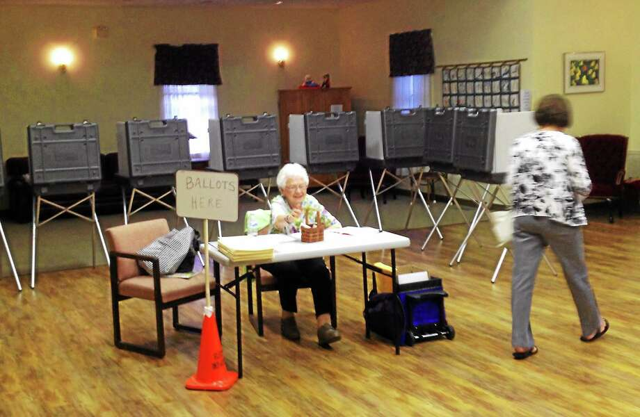For years, Portland voters have cast their ballots at the senior center. Photo: File