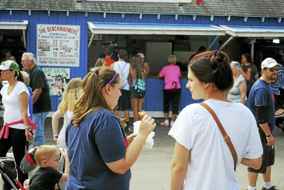 The Durham Fair runs through Sunday. Photo: Viktoria Sundqvist — The Middletown Press