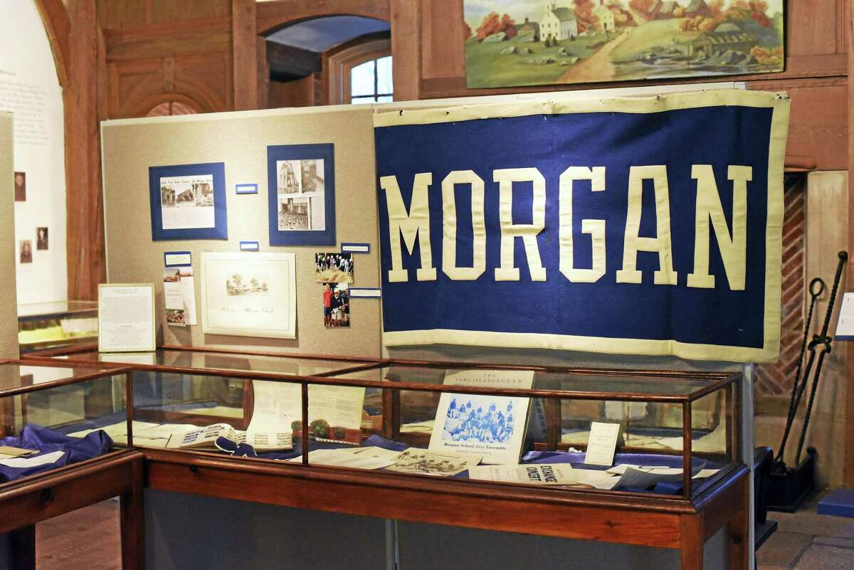 Contributed photos The Clinton Historical Soceity's new exhibit focuses on the private Morgan School, with many activities planned for graduates and visitors alike.