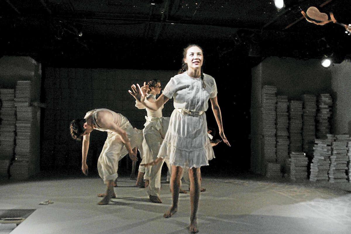 Sydney Lemmon, playing Alice, at Yale Summer Cabaret.