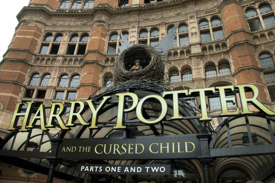"""This July 30, 2016 photo shows the Palace Theatre in central London which is showing a stage production of, """"Harry Potter and the Cursed Child."""" The script """"Harry Potter and the Cursed Child Parts One and Two"""" sold more than 2 million print copies in North America in its first two days of publication, Scholastic announced Wednesday, Aug. 3, 2016. Photo: Photo By Joel Ryan/Invision/AP, File  / Invision"""