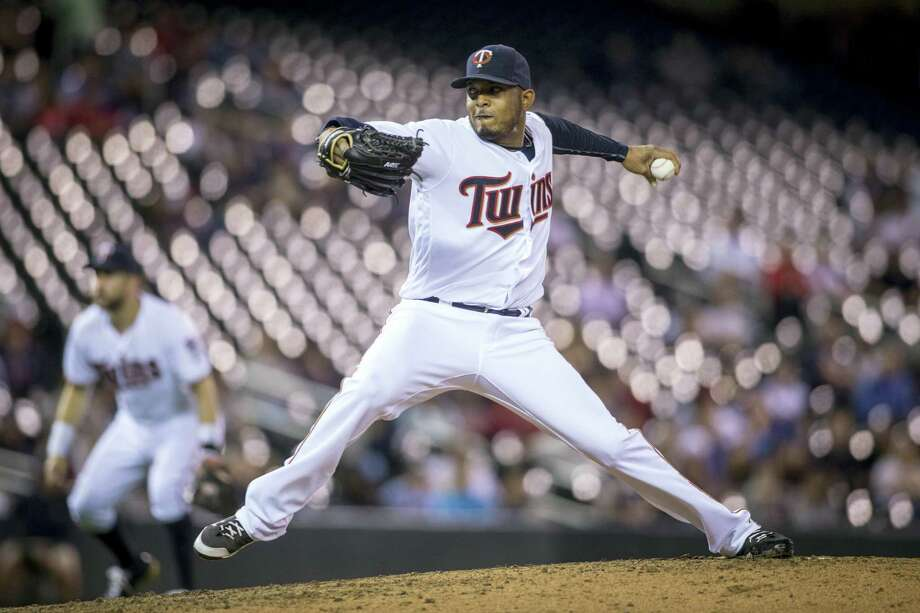 The Boston Red Sox have acquired left-handed reliever Fernando Abad from the Minnesota Twins for minor league pitcher Pat Light. Photo: Bruce Kluckhohn — The Associated Press File  / FR170893 AP