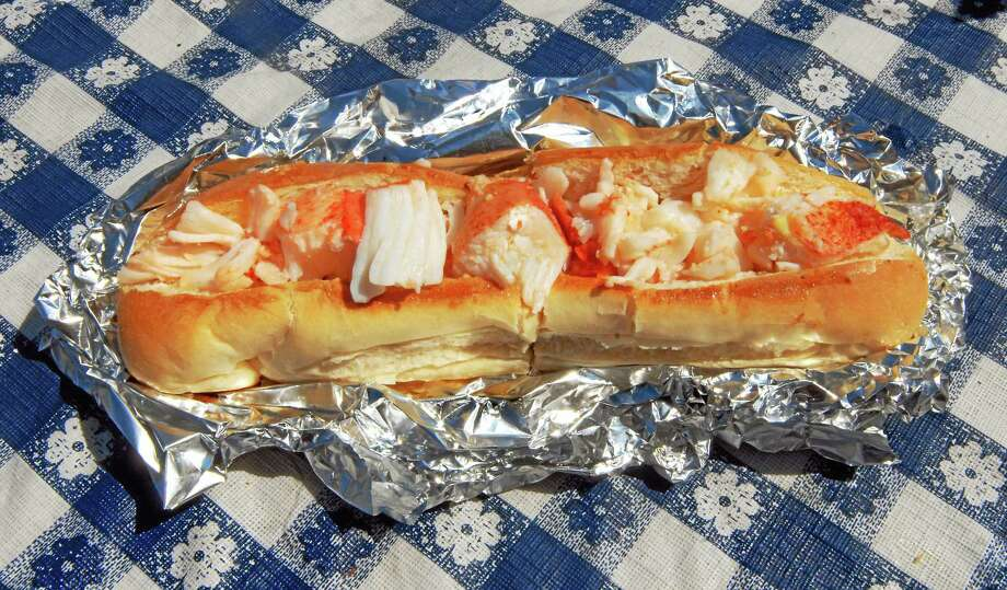 Register File Photo Lobster Roll at The Lobster Shack in Branford. Photo: Journal Register Co.