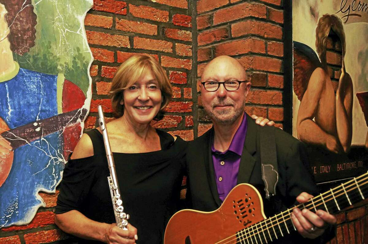 """Contributed photo New England Arts & Entertainment presents Ali Ryerson with guitarist Joe Carter on Friday June 3 for two performances at the HYPERLINK """"http://www.PalaceTheaterCT.org""""Palace Theater Poli Club."""
