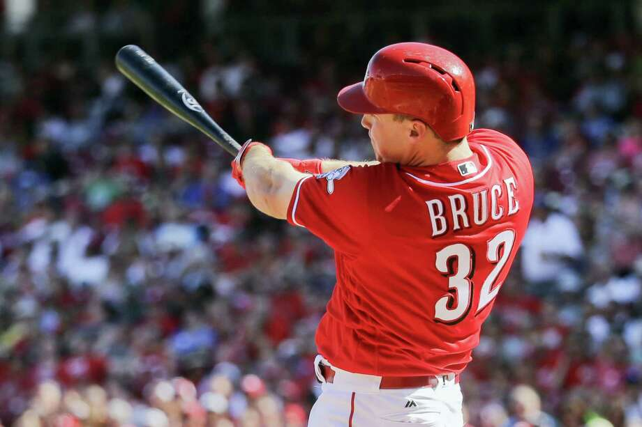 The New York Mets have acquired All-Star outfielder Jay Bruce from the Cincinnati Reds for infielder Dilson Herrera and minor league left-hander Max Wotell. Photo: John Minchillo — The Associated Press File  / AP